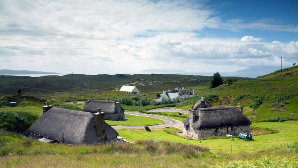 Buy your own village in the Scottish Highlands